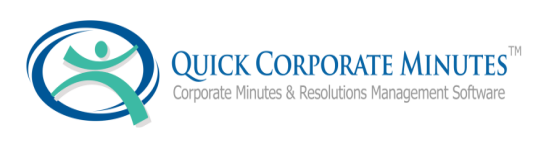 quick corporate minutes automated minutes resolutions for small
